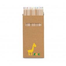 """Caixa 12 lápis de cor """"Croco"""""""