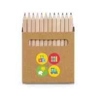 "Caixa 12 lápis de cor ""Coloured"""