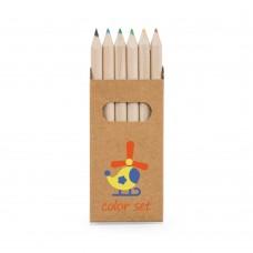 """Caixa 6 lápis de cor """"Bird"""""""