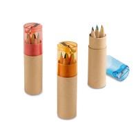 """Caixa 6 lápis de cor """"Rols"""""""