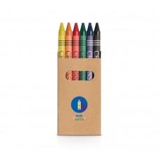 """Caixa 6 lápis de cera """"Eagle"""""""