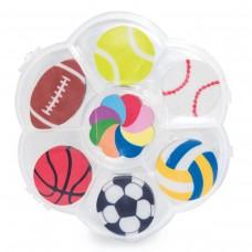 """Conjunto de borrachas """"Sport Ball"""""""