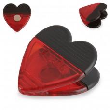 """Pinça magnética """"Coração"""""""