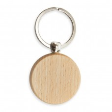 """Porta-Chaves de madeira """"Round"""""""