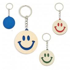 "Porta-Chaves de madeira ""Smile"""