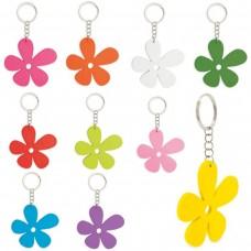 "Porta-Chaves de madeira ""Happy Flower"""