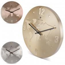 """Relógio """"Mundi Mapa"""""""