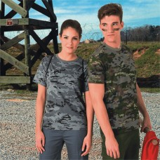 """T-shirt  typed """"Soldier"""""""